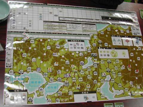 京と近江でがんばる織田軍